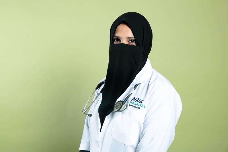Dr Fathima Safa, Obstetrics and Gynaecology specialist at Aster Hospital, Al Qusais