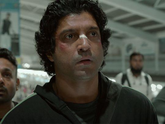 Farhan Akhtar in 'Toofan' trailer