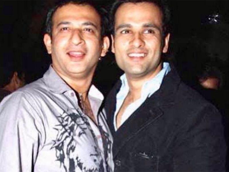 Raj Kaushal and Rohit Roy