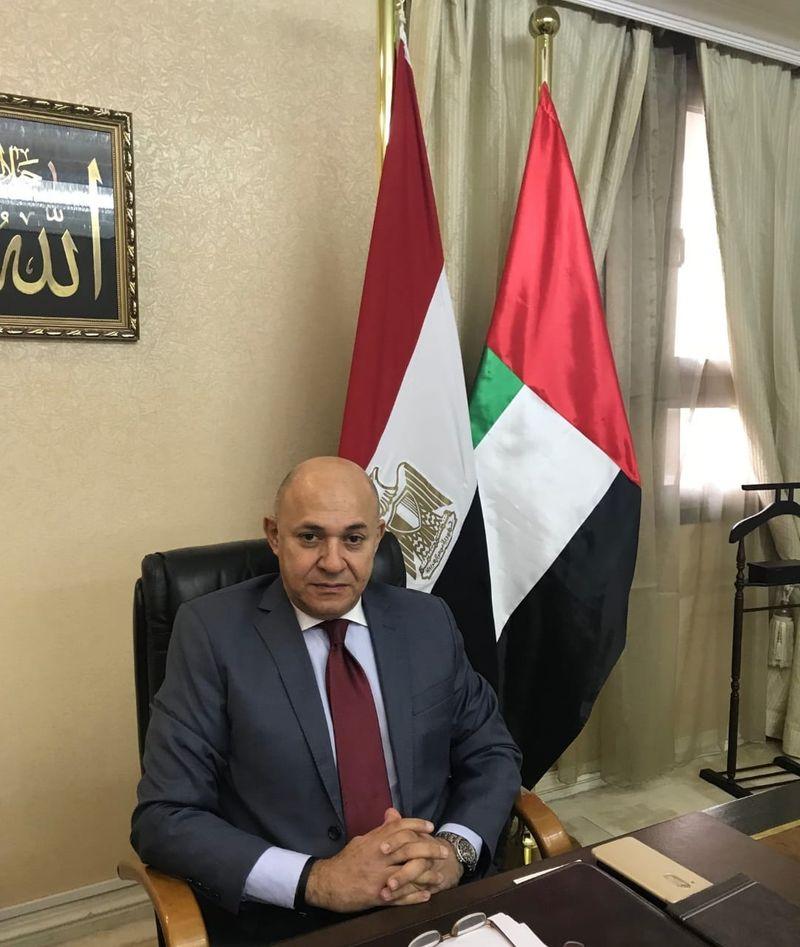 Sherif Mohamed Fouad Al-Badawi, Egyptian Ambassador to the UAE