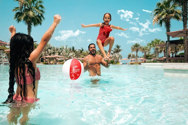 Caesar's Palace is just one of the many UAE hotels offering fantastic staycation deals for families over the Eid Al Adha break
