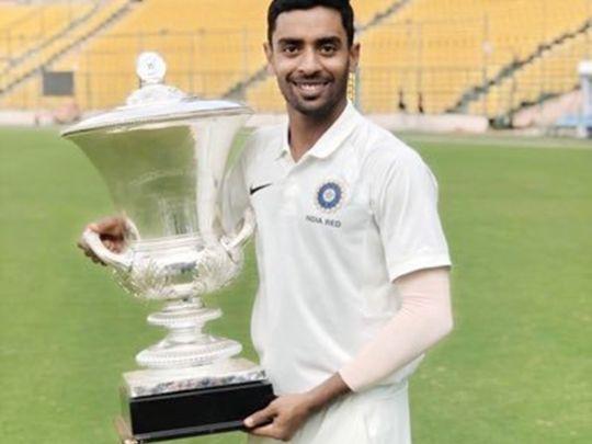 Cricket - Abhimanyu Easwaran