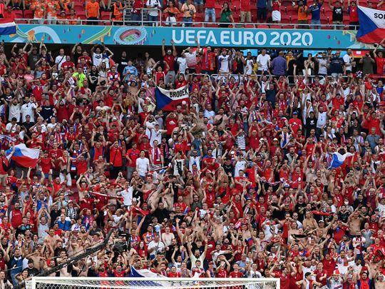 Euro 2020 fans Hungary Budapest