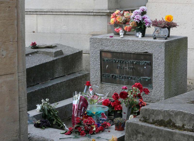 Jim Morrison grave 1-1625125558435