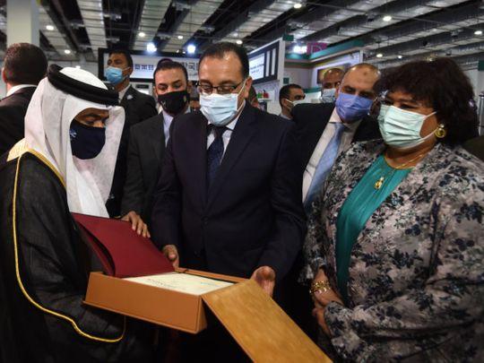 NAT Sharjah at Cairo book fair-1625214916720