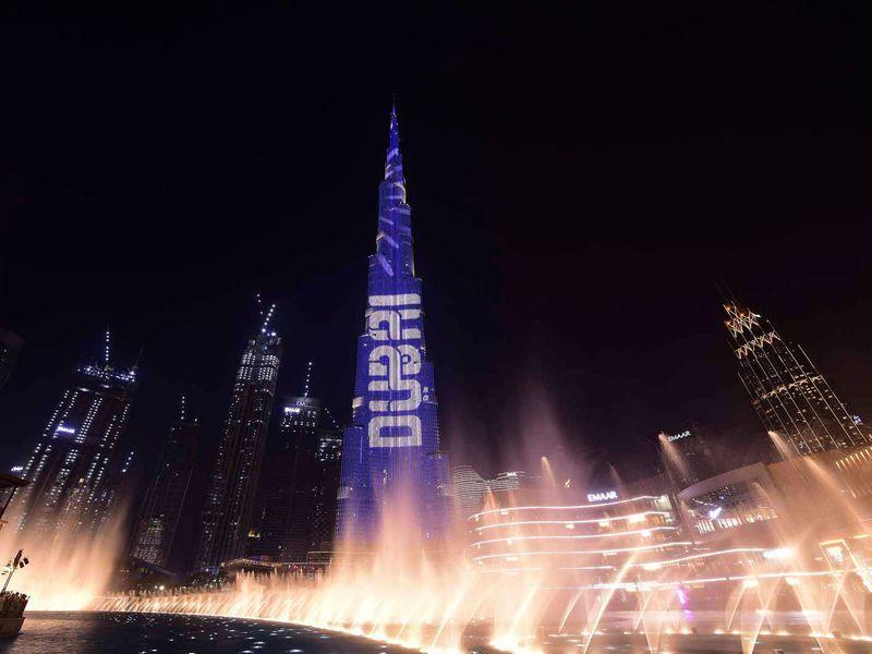 Stock - Dubai Shopping