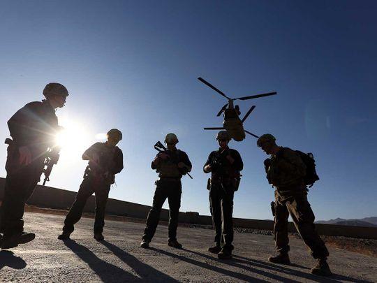Afghan Taliban US troops