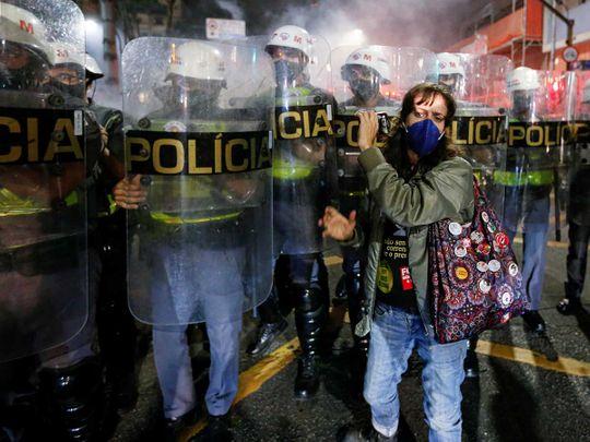 Protest brazil bolsonaro jair