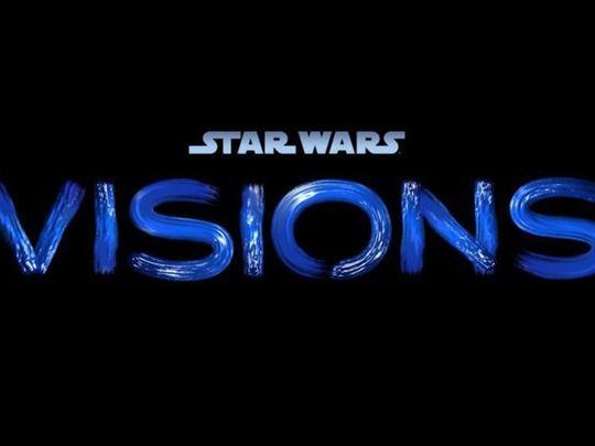 Star Wars Visions Titlecard