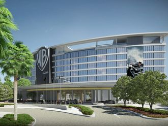 Warner Bros. themed hotel