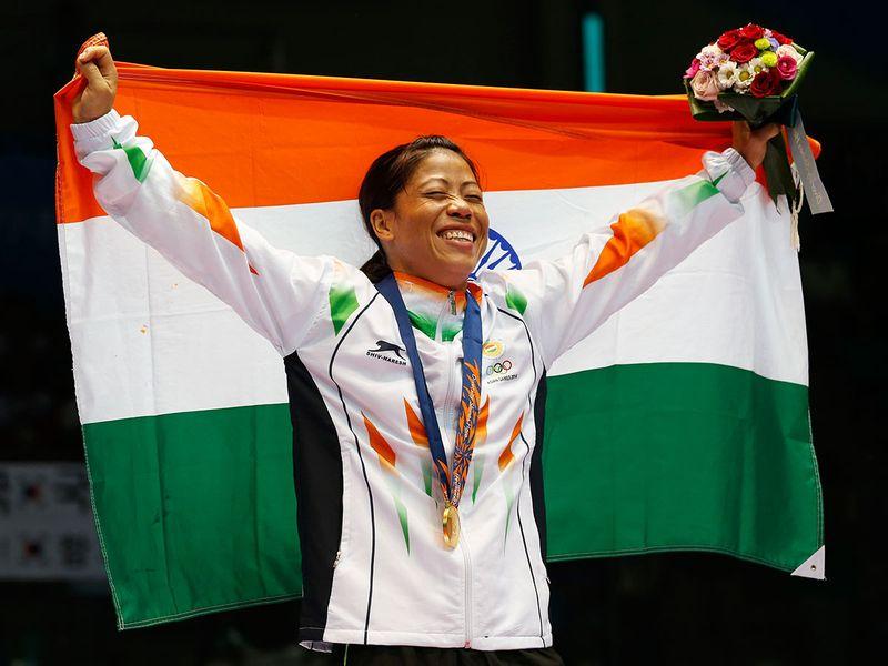 India's Mary Kom