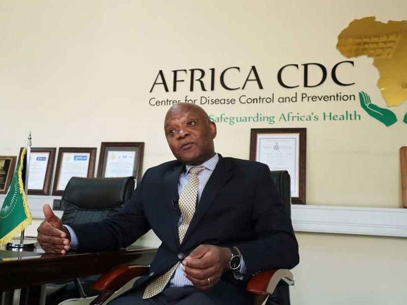 John Nkengasong Africa CDC