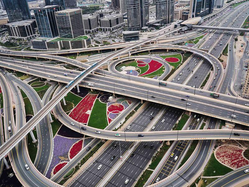 NAT DUBAI ROAD AND METRO  WAM-1625478563372