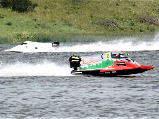 Team Abu Dhabi's Rashed Al Qemzi was in brilliant form before his exit from qualifying