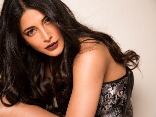 Actress and singer Shruti Haasan
