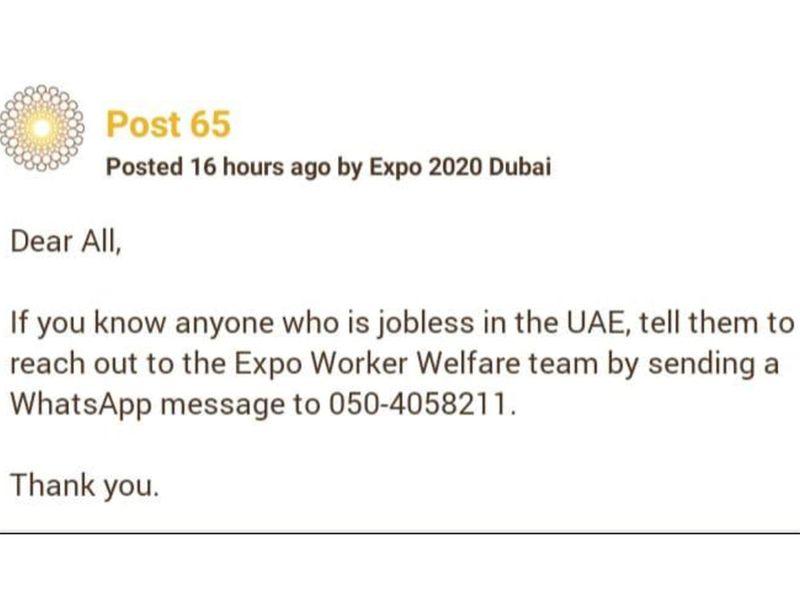 Expo scam