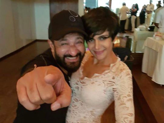 Mandira Bedi shares picture with late husband Raj Kaushal