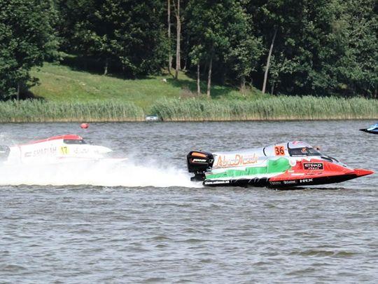 Mansoor Al Mansoori of Team Abu Dhabi  in the GP of Lithuania