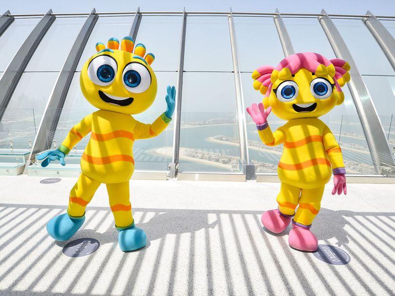Meet the mascots