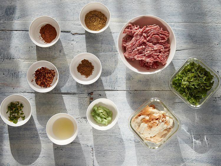 Mutton cutlet ingredients