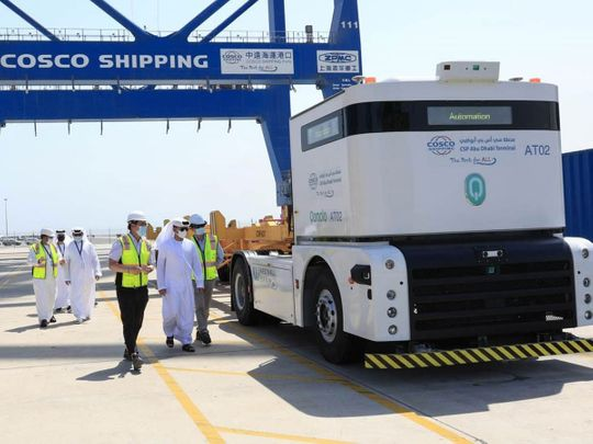 Stock - Abu Dhabi Ports