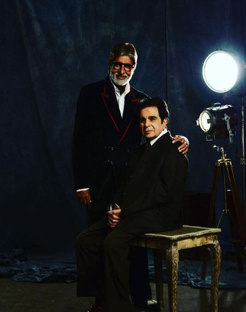 Amitabh Bachchan and Dilip Kumar