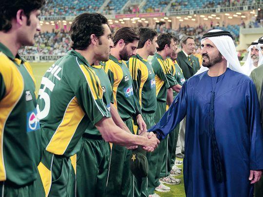Cricket - Sk Mo at Dubai International Stadium