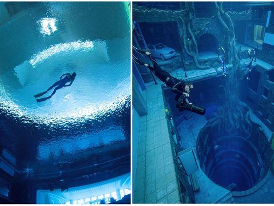 Deep Dive Dubai - The World's Deepest Pool Opens in Dubai