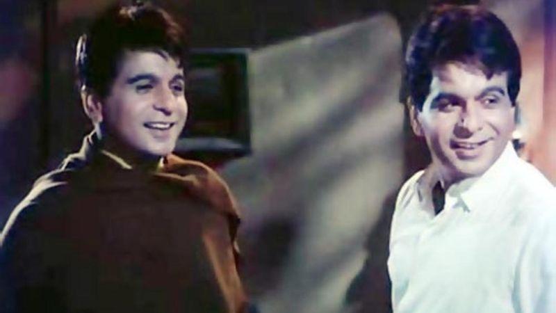 Dilip Kumar in 'Ram Au Shyam'