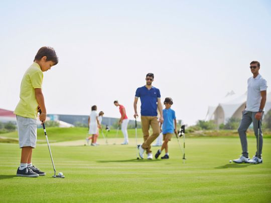 July is Troon Family Golf Month in Abu Dhabi