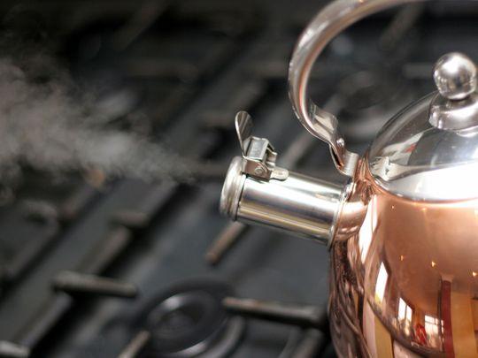 boiling water kettle
