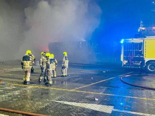 210708 port fire