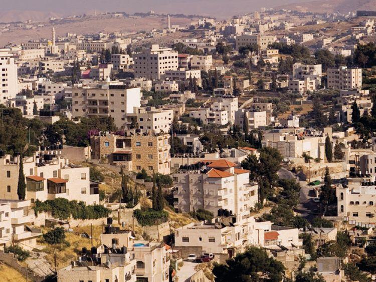 Contested Land Series - Mount of Olives, East Jerusalem, 2007 Sama Alshaibi