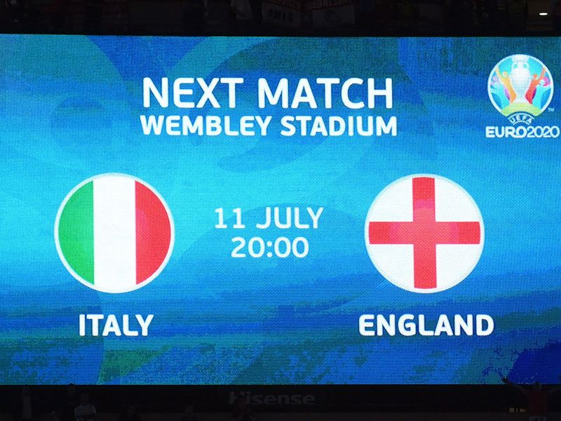 England set up a Euro 2020 final clash with Italy