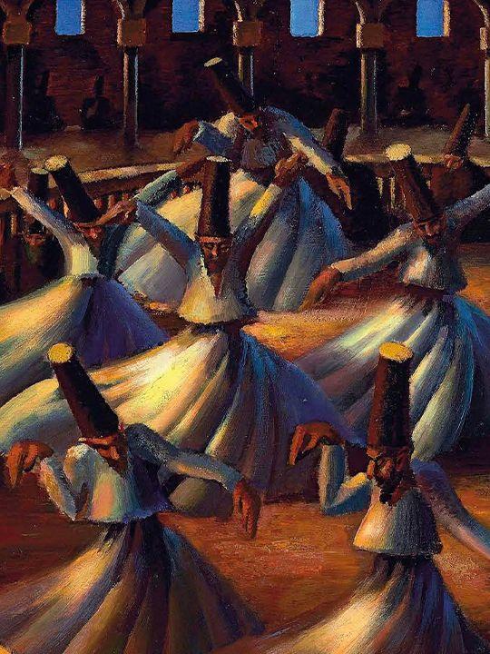 The Whirling Dervishes Mahmoud Saïd