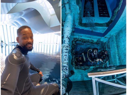 Will Smith at Deep Dive Dubai