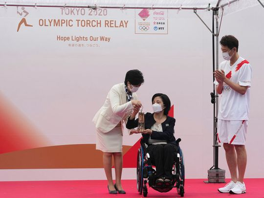 210709 Olympic flame