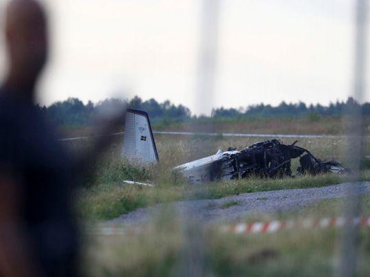 210709 Sweden plane crash