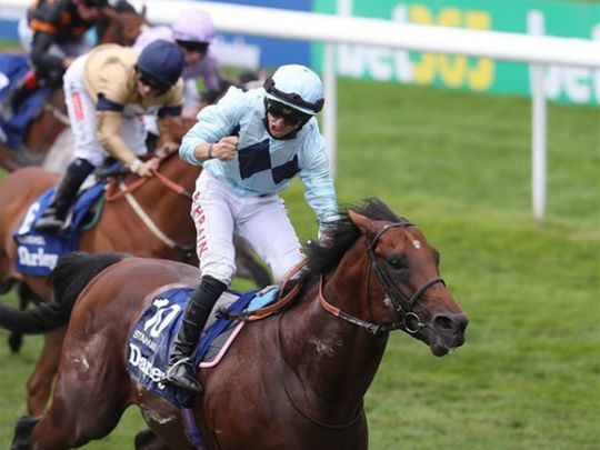 Starman wins the Darley July Cup at Newmarket