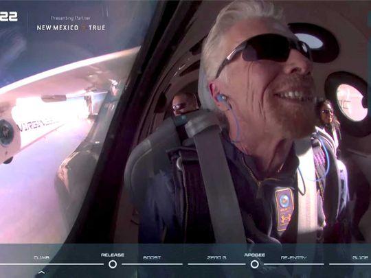 Billionaire Richard Branson Virgin Galactic