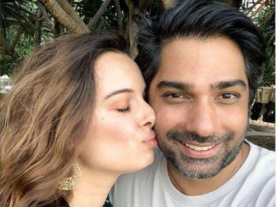 Evelyn Sharma and husband Tushaan Bhindi