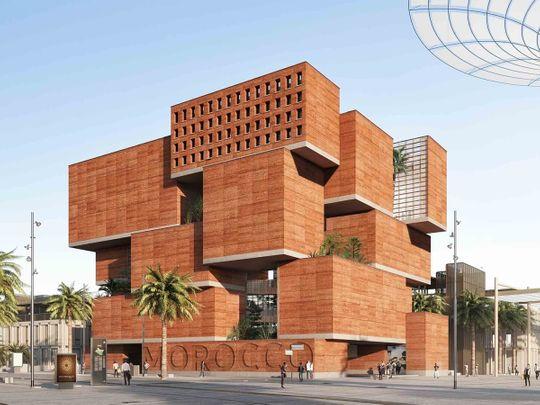 morocco pavilion expo 2020