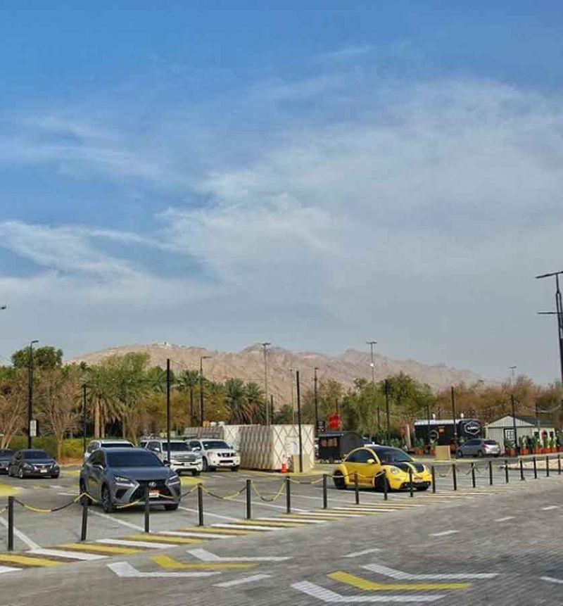 Al Ain fod truck site