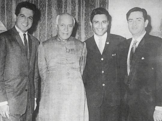 Dilip Kumar with Nehru