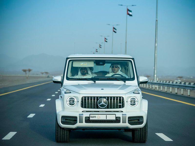 Dubai infrastructure roads sheikh Mohammed G63