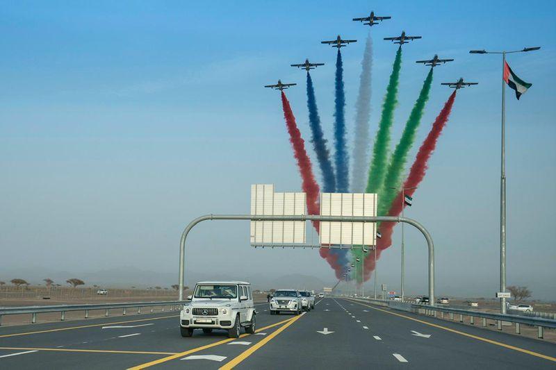 Infrastructure Dubai roads