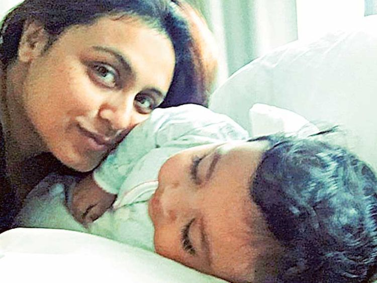 Rani Mukherjee with Adira