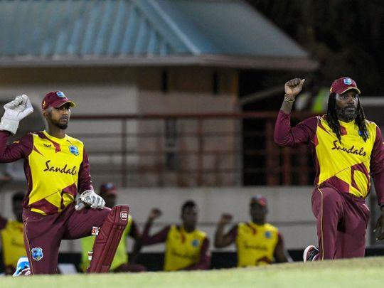 Cricket - Gayle & Pooran
