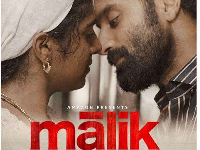 Fahadh Faasil and Nimisha in 'Malik'