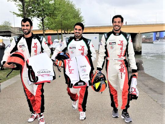 Majed Al Mansoori, Rashed Al Remeithi and Mohamed Al Mehairbi partner Al Tayer in Abu Dhabi 2
